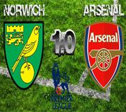 Норвич - Арсенал (1:0) (20.10.2012) Видео Обзор