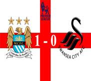 Манчестер Сити - Суонси (1:0) (27.10.2012) Видео Обзор
