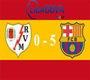 Райо Вальекано – Барселона (0:5) (27.10.2012) Видео Обзор