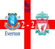 Эвертон - Ливерпуль (2:2) (28.10.2012) Видео Обзор