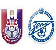 Мордовия - Зенит (0:2) (30.10.2012) Видео Обзор