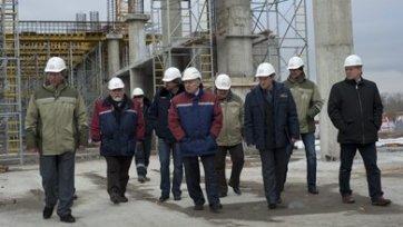 Рабочий погиб во время строительства стадиона «Спартака»