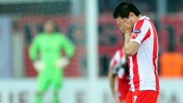 «Олимпиакос» может сыграть в Лиги чемпионов без Ибагасы