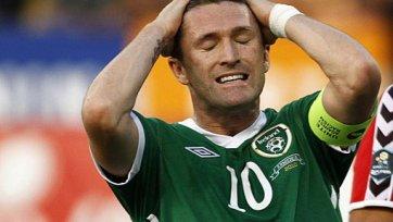 Сборная Ирландии потеряла важного игрока