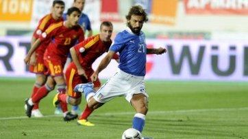 Армении в матче с Италией сил не хватило