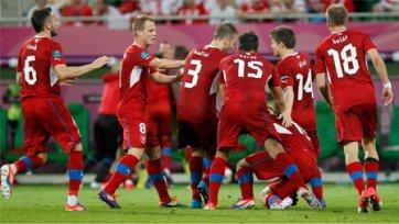 Завтра сборная Чехии отправится в Россию