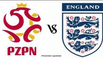 Матч Польша – Англия будет сыгран завтра