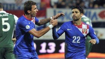 Забивная парочка Манджукич – Эдуардо принеси Хорватии победу