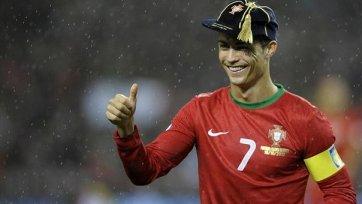 УЕФА наградило Роналду