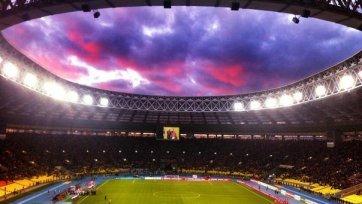 Матчи чемпионата России по футболу в «Лужниках» проводиться не будут