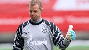Вячеслав Малафеев будет играть в «Зените» до 2016 года