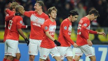 «Спартак» одержал первую победу в Лиге чемпионов