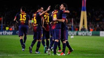 «Барселона» вырвала победу на последних секундах