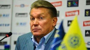 Блохин присутствовал на тренировке «Динамо»