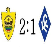 Анжи - Крылья Советов (2:1) (31.10.2012) Видео Обзор