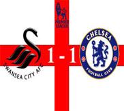 Суонси - Челси (1:1) (03.11.2012) Видео Обзор