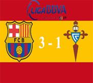 Барселона - Сельта (3:1) (03.11.2012) Видео Обзор