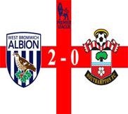 Вест Бромвич - Саутгемптон (2:0) (05.11.2012) Видео Обзор