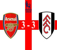 Арсенал - Фулхэм (3:3) (10.11.2012) Видео Обзор