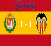 Вальядолид - Валенсия (1:1) (11.11.2012) Видео Обзор
