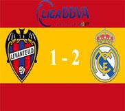 Леванте – Реал Мадрид (1:2) (11.11.2012) Видео Обзор