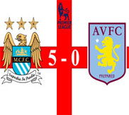 Манчестер Сити - Астон Вилла (5:0) (17.11.2012) Видео Обзор