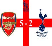 Арсенал - Тоттенхэм (5:2) (17.11.2012) Видео Обзор