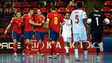 Испания разгромила Панаму