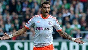 «Бавария» потеряла Манджукича накануне игры с «Лиллем»