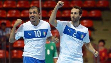 Италия заняла первое место и вышла в плей-офф чемпионата мира