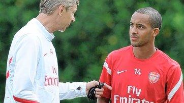 Венгер хочет сохранить Уолкотта в «Арсенале»