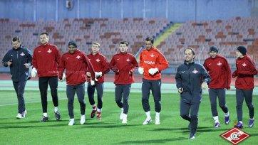 «Спартак» готовится к игре против «Краснодара» без трех лидеров