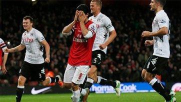«Арсенал»-«Фулхэм» 3-3. Сумасшедший матч на «Эмирэйтс»