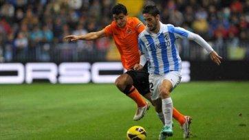 «Малага» - «Реал Сосьедад» 1-2. Второе поражение подряд  «Малаги»