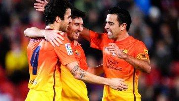 «Мальорка» - «Барселона» 2-4. У Месси всего лишь «дубль»