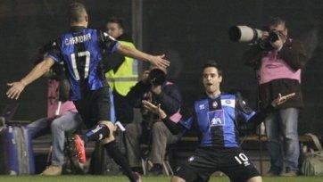 «Аталанта» остановила «Интер»