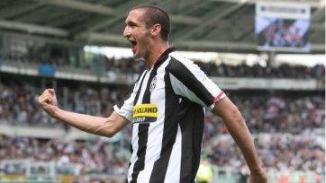 Джорджо Кьеллини не сможет сегодня вечером сыграть против «Милана»