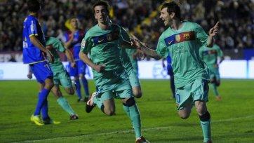 Анонс. «Леванте» - «Барселона» - очередной домашний матч против гранда.