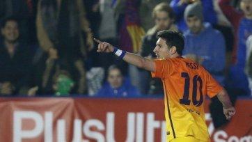 «Барселона» на классе обыгрывает «Леванте»