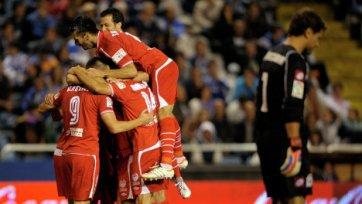 «Севилья» громит «Эспаньол» в Кубке Испании