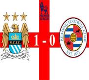 Манчестер Сити - Рединг (1:0) (22.12.2012) Видео Обзор