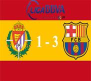 Вальядолид - Барселона (1:3) (22.12.2012) Видео Обзор