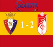 Осасуна - Гранада (1:2) (22.12.2012) Видео Обзор