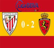 Атлетик - Сарагоса (0:2) (23.12.2012) Видео Обзор