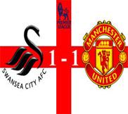 Суонси - Манчестер Юнайтед (1:1) (23.12.2012) Видео Обзор