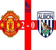 Манчестер Юнайтед - Вест Бромвич (2:0) (29.12.2012) Видео Обзор
