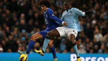 «Манчестер Сити» оступается в матче с «Эвертоном», но выходит в лидеры
