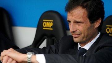 Массимилиано Аллегри: «Никаких тактических изменений не будет»