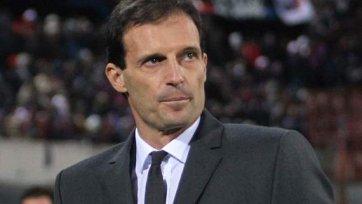 Массимилиано Аллегри: «В первом тайме я был доволен командой»