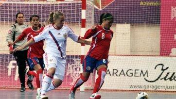 Сборная России по футзалу одержала вторую победу на чемпионате мира